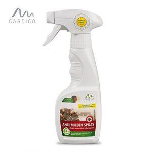 Gardigo Anti-Milben-Spray 250 ml, Extrakt aus dem Mutterkraut, Milbenspray, Milbenmittel, Milbenschutz