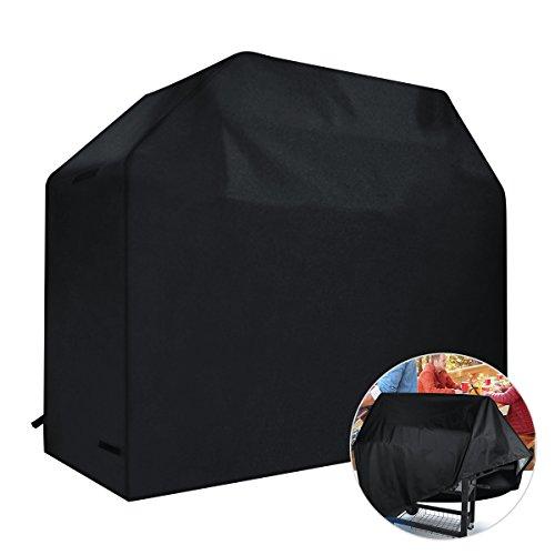 Caiyuangg Wasserdicht Abdeckungen,Staubdicht UV-Schutz Garten Terrasse BBQ Grill Schreibtischstuhl Möbel Abdeckung (145x61x117cm)