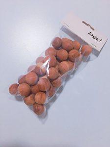 logei® 40St Mottenkugeln aus Zedernholz Geruchskugeln Mottenstop Mottenschutz Set