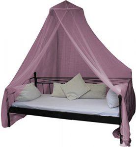 Mobiles Moskitonetz – Insektenschutz für In- und Outdoor – für Einzel- und Doppelbetten Farbe Pink