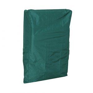 Schutzhülle Relaxsessel Stuhl Gartenstuhl Wetterschutzhülle grün 94 x 61 x 21 cm