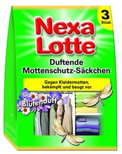Nexa Lotte Duftende Mottenschutz-Säckchen mit Blütenduft – 3 St.