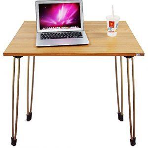 Need Schreibtische 80x60cm Esstische Kaffeetische Gartentisch Mehrzwecktisch Computertisch PC Tisch Teak Eiche Farbe