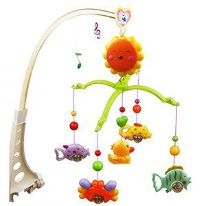 exoh Baby Kinderbett Mobile Music Bett Bell Fun Educational Spielzeug