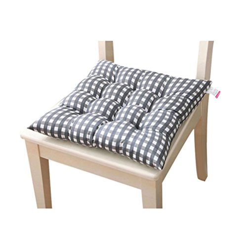 Tefamore Hause Innenküche Büro Stuhl Polster Sitzkissen Pads (Grau)