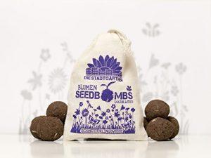 """Seedbombs """"Schmetterlingswiese"""" ✿ Handgemachte Samenbomben zum anlocken von Schmetterlingen ✿ Das Original von DieStadtgärtner®"""
