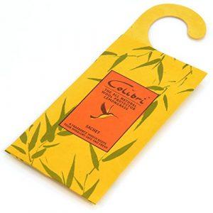2 Duftkissen zum Aufhängen mit Zitronengras-Duft – Natürlicher Mottenschutz – Hangerworld