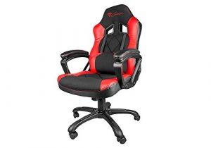 Genesis SX33 Gaming Stuhl Bürostuhl Schreibtischstuhl Gaming schwarz/rot