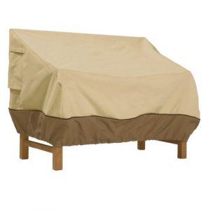 Classic Accessories Sofa/Zweisitzer-Abdeckung für die Terrasse – Klein