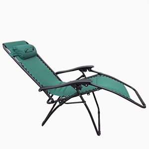 VF Lounger Deluxe Chair Stuhl mit Liegefunktion Relaxsessel Campingstuhl – Liege