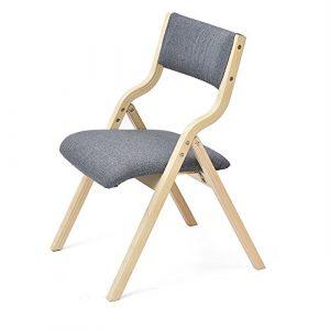 Hocker – Heim Stuhl einfache moderne Stuhl zurück Schreibtisch Stuhl Esszimmer Stuhl Nordic Erwachsenen Holz Klappstuhl (multicolor optional) (Farbe : 1)