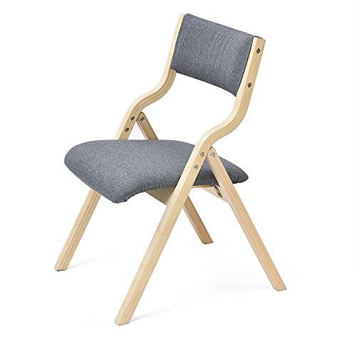 Hocker - Heim Stuhl einfache moderne Stuhl zurück Schreibtisch Stuhl Esszimmer Stuhl Nordic Erwachsenen Holz Klappstuhl (multicolor optional) (Farbe : 1)