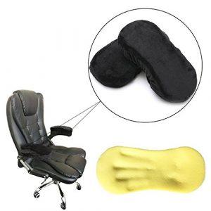 Armlehne Kissen, essort Memory Foam Armlehne Pads, Bürostuhl Armlehne Pad Kissen, Armlehne Cover für wheelchair-elbow (2Pcs), 28x 13x 3,5cm