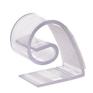 su-luoyu Tischtuchklammern Kunststoffe Klammern für Tischdecken Include 3 Verschiedene Größe 10 Clips in Insgesamt (B: Öffnung 1,5 cm)