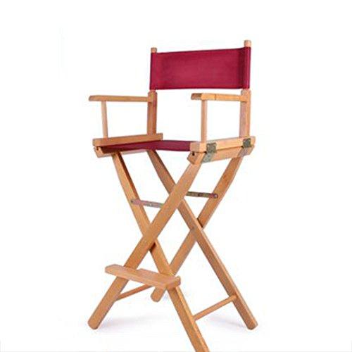 So senden Hocker Brisk- Massivholz Klappstuhl  High-End-Make-up Stuhl  Hochstuhl  Bar Barhocker  Portable Stuhl  Folding Leinwand Stuhl (Farbe : #11)