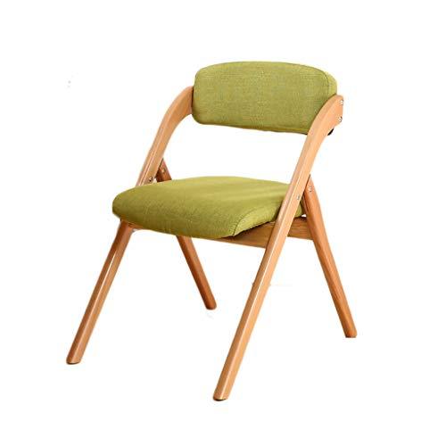 Chairyu Schreibtischstuhl Sessel Computerhocker Buche Simple Fold Haushalt Esszimmerhocker