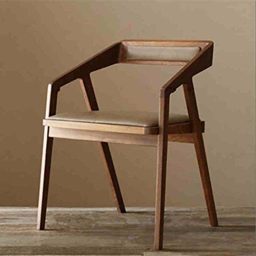 YXWzdy faltstuhl Amerikanisches Holz Esszimmerstuhl Café Stühle Stuhl mit Armlehnen Sessel Bürostuhl Computer Stuhl holzklappstuhl