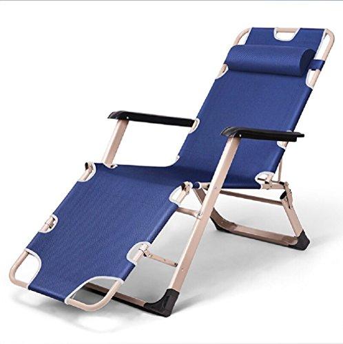 YOPEEN Stahl Liegestuhl Falten Mittagessen Nickerchen Bürostuhl Kinderbetten Kinderstuhl Strandkorb, 2 Pack