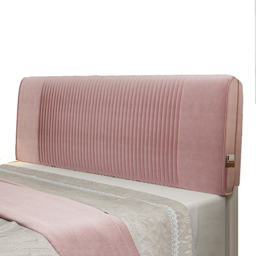 WENZHE Kopfteil Kissen Bett Rückenkissen Rückenlehne Waschbar Stoff Großes Kissen Multifunktion mit Kopfteilen/Keine Kopfteile, 6 Farben, 6 Größen (Farbe : 2#-No headboard, größe : 200cm)