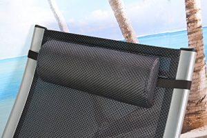 Nackenpolster für Gartenmöbel Liegen Deckchair Relaxsessel Kopfkissen