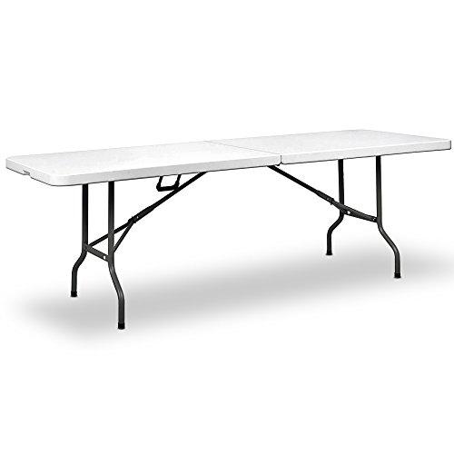 Deuba Buffettisch Klapptisch Mehrzwecktisch 240x70 cm Tisch klappbar XXL
