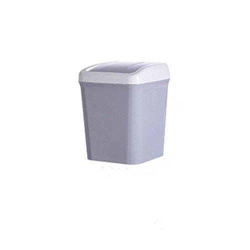 Wicemoon Mini-Abfalleimer, kreativer, weißer Abfalleimer für Zuhause, Büro, Schreibtisch, Wohnzimmer.