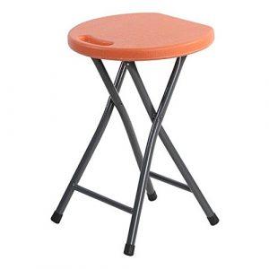 LBAFS Faltbarer Schemel-tragbarer Plastik Gepolsterter Einfacher Tabellen-Schemel Für Hauptgrill-Picknick Im Freien,F