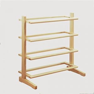 Schuhregal NAN Massivholz Multilayer Typ L Regale Staubdicht Wohnzimmer Flur Schlafzimmer 70 * 24 * 72 cm