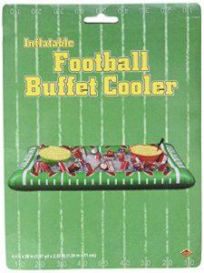 Beistle 542531er Pack aufblasbare Fußball Buffet Kühler für Partys, 71cm Breite von 4-feet 5–3/4-Zoll Länge