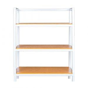 Schuhregal NAN 4 Schichten bietet Platz für 16 Paar Schuhe Multi-Funktion Lagerregal Flur Wohnzimmer Schlafzimmer 40 * 28 * 52 cm (Farbe : 1)