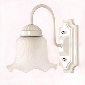 YYHAOGE Led-Linse Scheinwerfer Kommode Badezimmer Badezimmer Balkon Lampe Wandleuchte Lampe Kabinett Make-up-Gang, eine kleine weiße Blumen