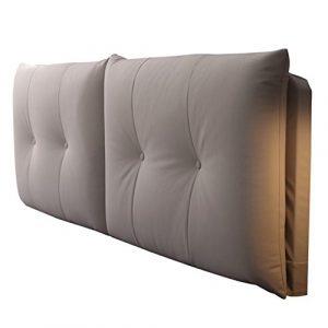 WENZHE Kopfteil Kissen Bett Rückenkissen Rückenlehne Technologie Tuch Antifouling Keine Wäsche Kissen Großer Rücken Einfach, 2 Arten, 5 Farben, 4 Größen (Farbe : 1#-No headboard, größe : 180cm)