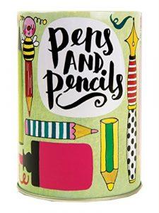Dose Pen & Bleistift Halter Schreibtisch Ablage–Stifte/Bleistifte Design