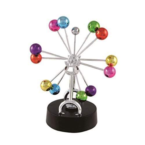 sciencegeek Electronic Kinetic Art Perpetual Motion Wissenschaft Schreibtisch Spielzeug Dekoration Home Office Ornament