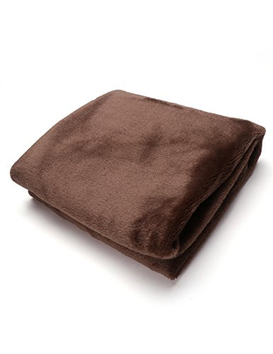 Swteeys Warm Thick Flannel Sofa Throw Blankets on Bed Home Tagesdecken