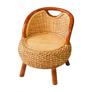 Schreibtischstühle Home Stuhl Massivholz Balkon Lounge Stuhl Single älteren Sitz Home Kinder Rattan Stuhl Outdoor Garten Lounge Sessel