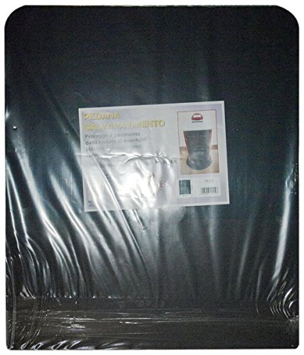 Trittbrett Schreibtischstuhl schwarz Holzofen und Pellet cm. 60x 70