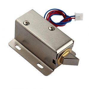 Yeshai3369 Mini-Elektro-Bolzenschloss, 12 V, Gleichstrom, Ersatzteil