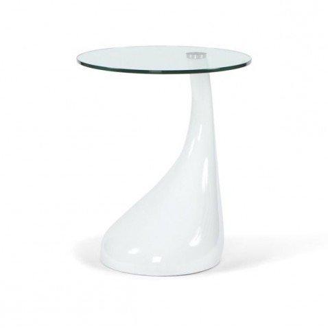 Couchtisch Design Melting Weiß