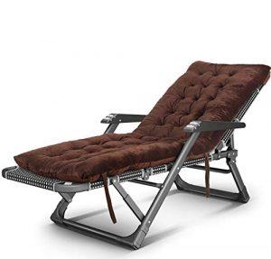 YWZDY Liegen Ruhender Stuhl, der Mittagspausebalkonfreizeiterwachsener Haushalt Siesta-Bettstrand tragbarer Stuhl faul Couch faltet (Farbe : D)