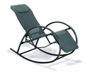 BEST 38470050 Relax-Schaukelstuhl Ancona, anthrazit