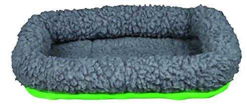 Trixie 62702 Kleintierkuschelbett, 30 × 22 cm, grau / grün