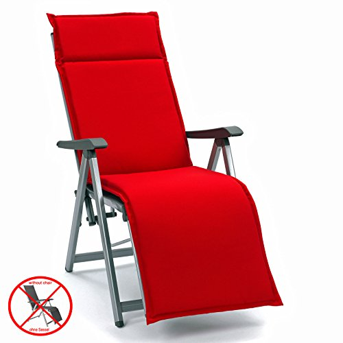 Sun Garden 10221034 Auflage Dessin 50234-310 Esdo für Relaxsessel, 100% Filamentpolyester, L 174 x B 50 x H 4 cm (ohne Relax)