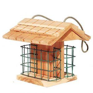NYDZDM Vogelhäuschen-Buffet, Garten-Vogelfütterungsstation, Die Hölzernes Brot Und Fruchtzufuhr Hängt