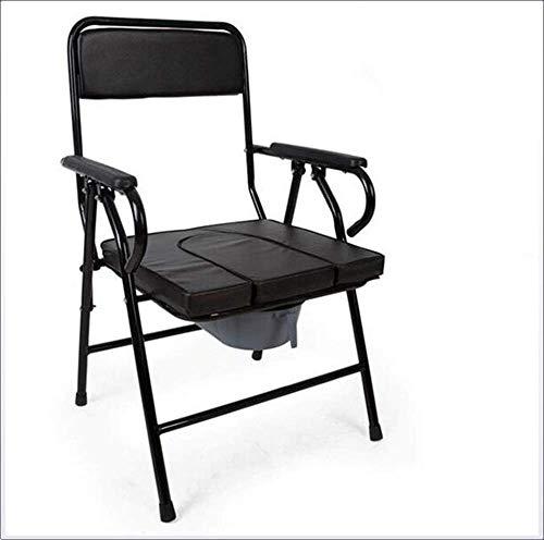 Toilettenstuhl-Sitz-Toilette mit aufgefülltem Sitz-Stuhl-Kommode-medizinische Hilfe ältere Personen u