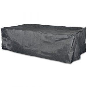 #0107 Schutzhülle Lounge Sofa 270cm Gartenmöbel Schutz Hülle Abdeckung Tragetasche Plane • Premium für Lounge-Möbel 270x210x85 cm