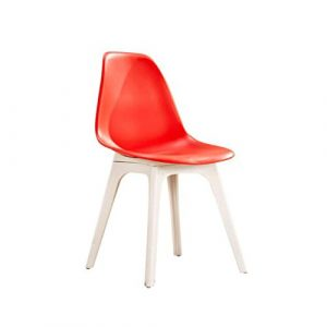 XJLG Sessel Stühle Bürostuhl Kaffeestuhl Moderner minimalistischer Stuhl, Computerstuhl, zufälliger Modebürostuhl, Hauptschemel. Hocker (Color : A)