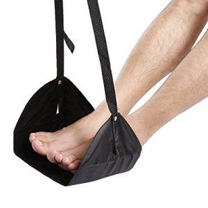 WINOMO Fuß Hängematte Fußstütze Tragbar für Schreibtisch Flugzeug Reisen Büro zur Entspannung