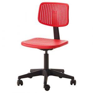 Mesh Back Bürocomputerstuhl Mit Höhenverstellbarer Schreibtischstuhl,Red