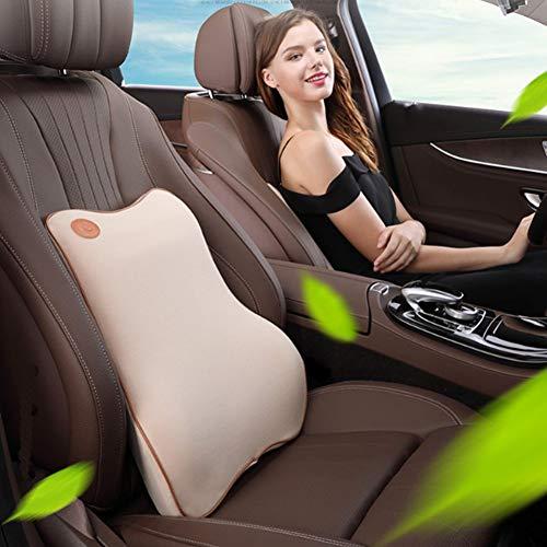 lymty Lordosenstütze Kissen, Premium Auto Rückenstützkissen, Besten Outdoor Lendenkissen, Lendenunterstützung Feste Memory Foam Seat Lordosenstütze für Bürostuhl